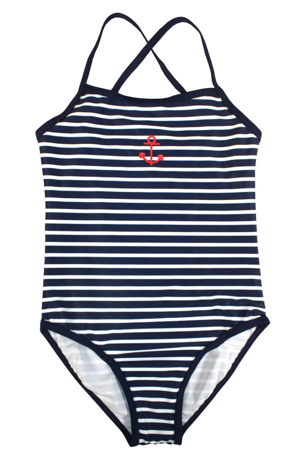 fbb752201 Dětské plavky Leontýnka · Dívčí jednodílné plavky Balien ...