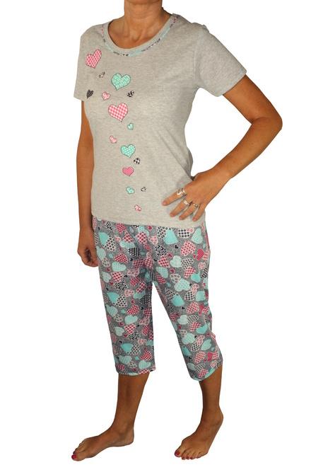 0146e10f0db1 Blanca dámske pyžamo s 3 4 nohavicami lacná bielizeň