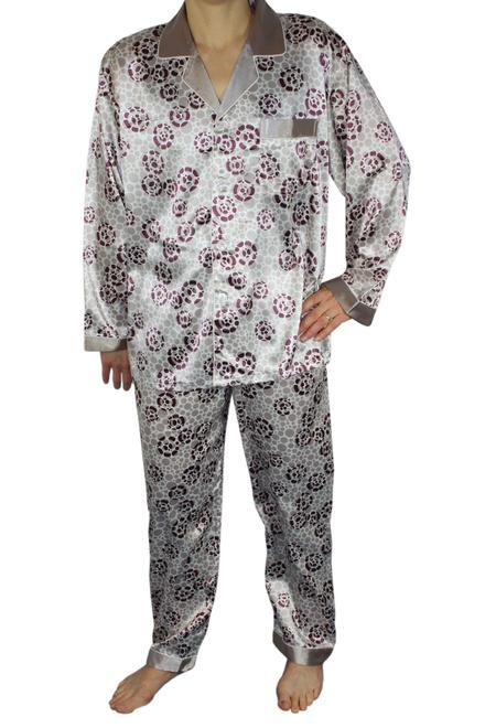 6fe0c3bb3d7a Fernando luxusné pánske pyžamo šedá veľkosť  XXL