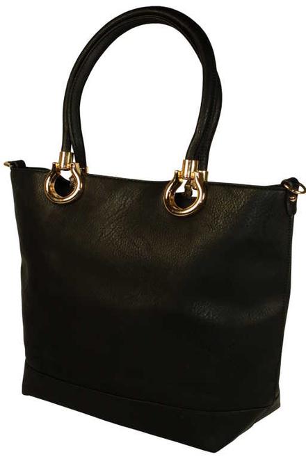 57af8a87bb Sheri Black veľká dámska kabelka čierna