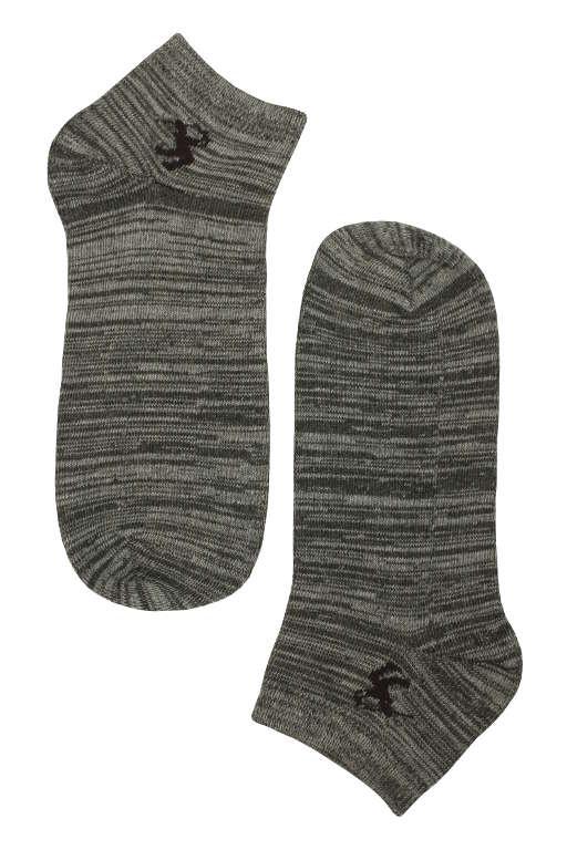 7ef7f69f3a2ba Pánske žíhané bavlnené ponožky 3 páry MIX veľkosť: 44-47 | eKAPO.sk