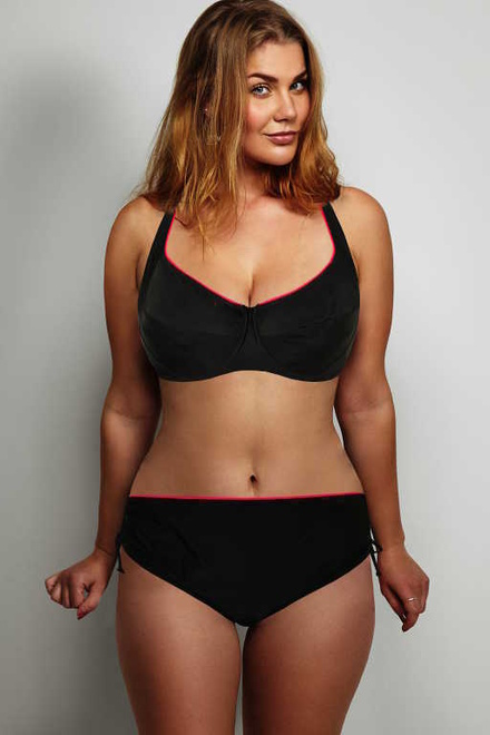3f6b4e892 Mariana Lady dvojdielne plavky s kosticami čierna veľkosť: 4XL ...