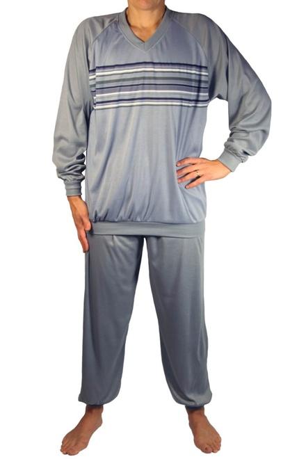 5383fd4aadcc Gavin pánske pyžamo - dlhé nohavice lacná bielizeň