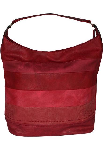 bfcedf3d5 Lea Red kabelka cez rameno aj do ruky červená | eKAPO.sk