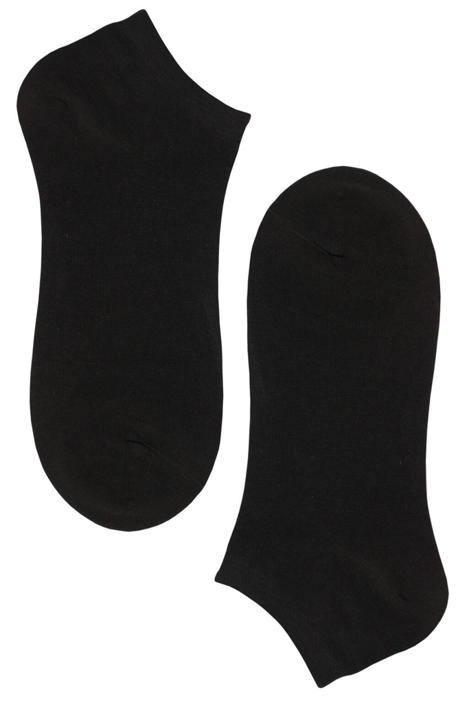 Bamboo Black dámske členkové ponožky - 3 páry čierna veľkosť  35-38 ... 3ee53675b5